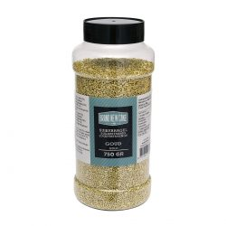 BrandNewCake Sugar Strands Metallic Goud 750gr.
