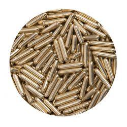 BrandNewCake Sugar Rods Metallic Licht Goud 80gr.
